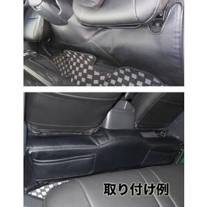 ハイエース200系標準用PVCラミネートレザーフロントリアポケット付デッキカバーセット