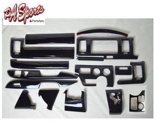 ハイエース 200系 4型/5型 標準 DX インテリアパネル3D  シルクウッド