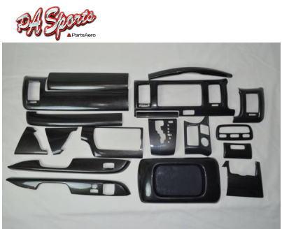 ハイエース 200系 4型/5型 標準 S-GL インテリアアパネル シルクウッド