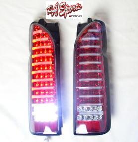 ハイエース 200系 テールランプ LED赤色チューブLED1年保証付