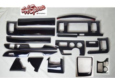 ハイエース 200系 4型/5型 標準 DX インテリアパネル ピアノブラック