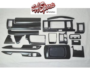 ハイエース 200系 4型/5型 標準 S-GL用 インテリアパネル シルクウッド