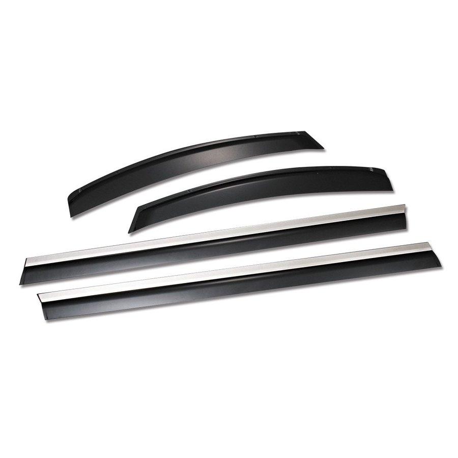 ドアバイザー サイドバイザー 金具付き 4ピース アルファード 30系 ヴェルファイア 30系 ZERO