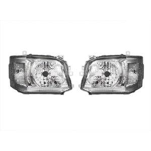 ヘッドライト ハロゲン ハイエース 200系 3型 クリア 標準 ワイド ボディ 左右 セット ZERO