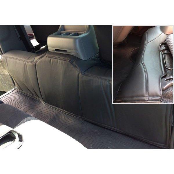 NV350 キャラバン E26 系 PVCラミネート レザー フロント リア デッキカバー 2点 セット