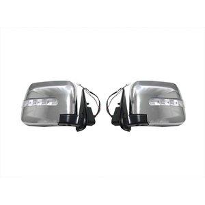 E25 キャラバン 後期 ドア ミラー LED ウィンカー 電動 格納 タイプ CARAVAN 左右2個セット ZERO