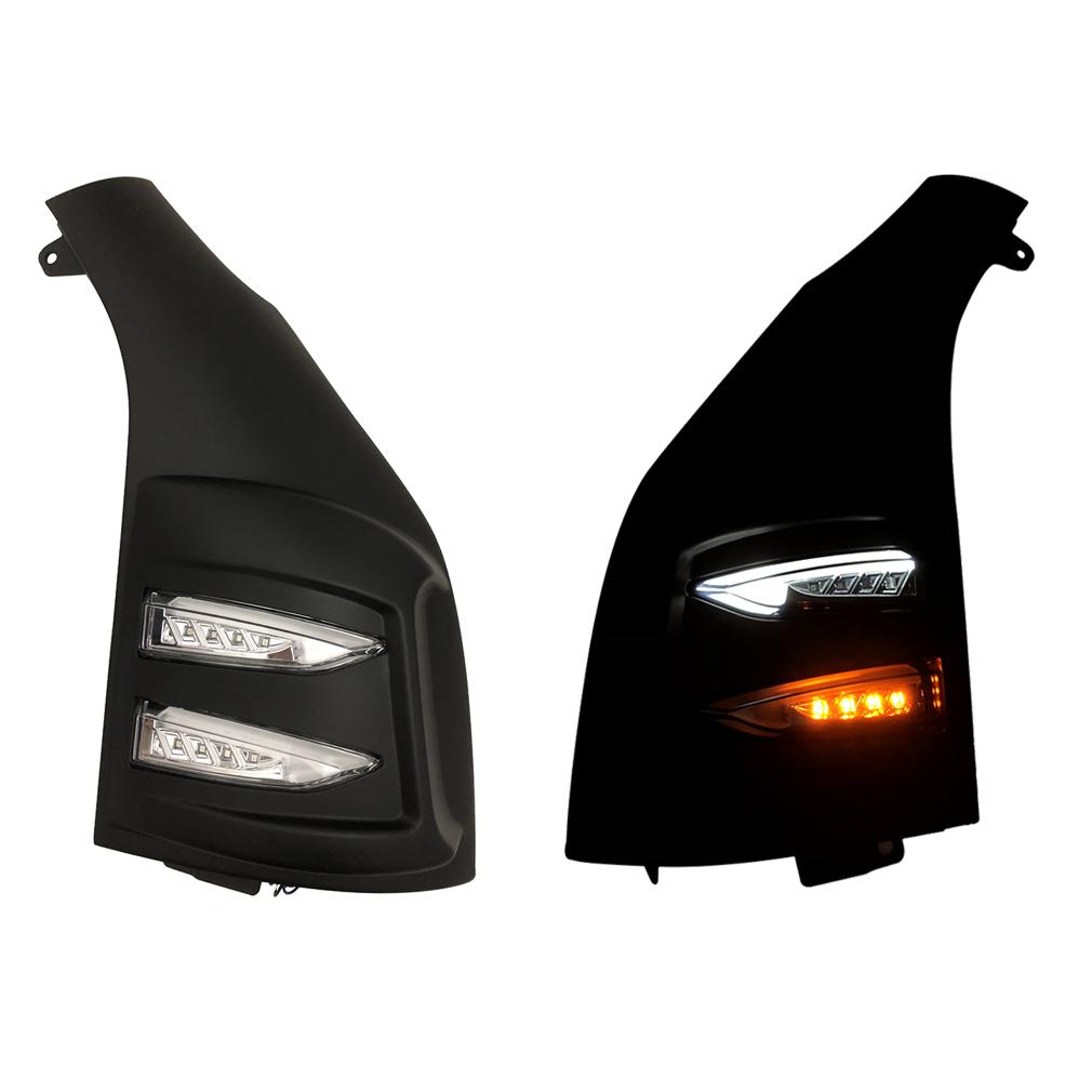 200系 ハイエース レジアスエース 1型 2型 3型 4型 5型 未塗装 クリア 交換式 H16~ ABS製 ファイバー ポジション LEDウインカー ZERO