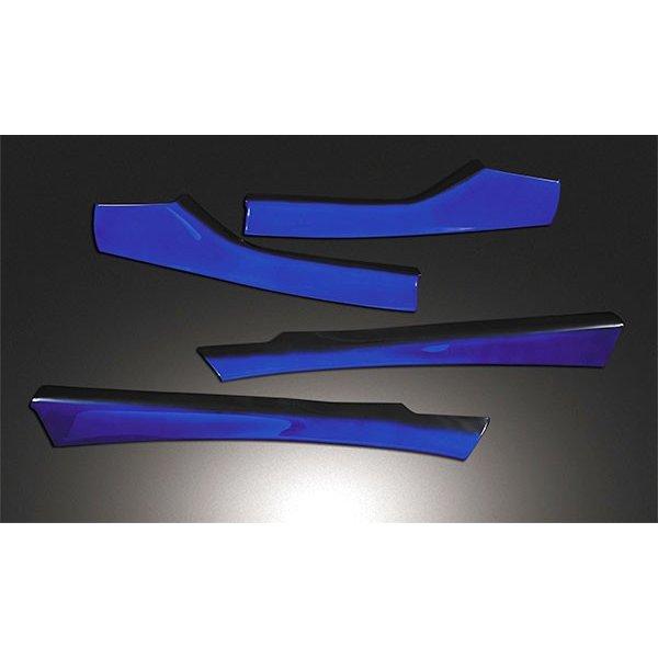 C-HR ZYX10 NGX50 ドアアッパートリムパネル ヒートブルー ZERO