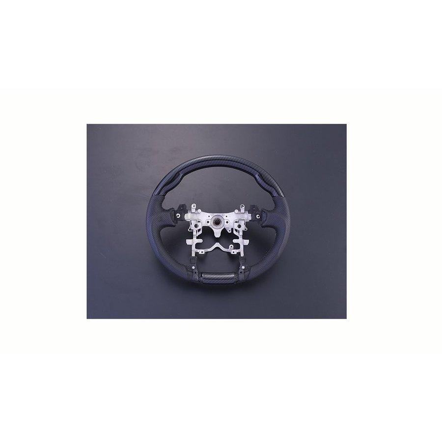 プリウス ZVW 30系 40系 ステアリング カーボン調 ガングリップ ZERO