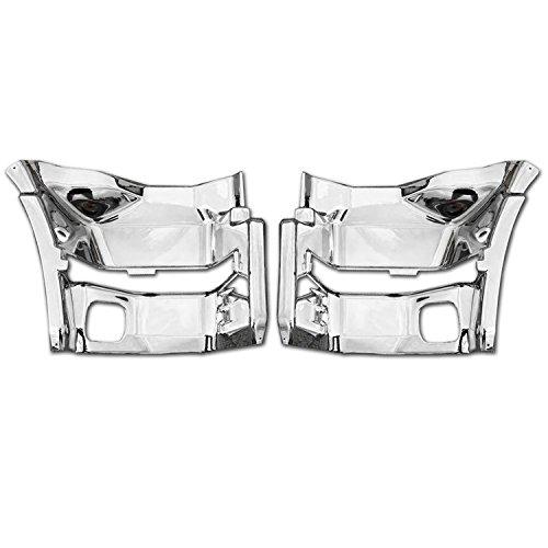 いすゞ NEW ギガ メッキ サイド ステップ パネル 左右 セット 新品 被せ式 ステップ カバー H22/5 - H27/10 AP-T022LR