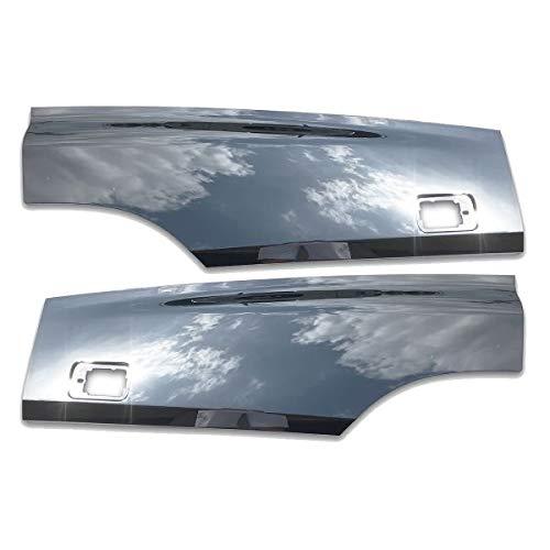いすゞ NEW ギガ メッキ ドア プロテクター ブリスター 左右セット 平成22年5月~平成27年10月 ABS製 ドアブリスター AP-T151LRT113LR