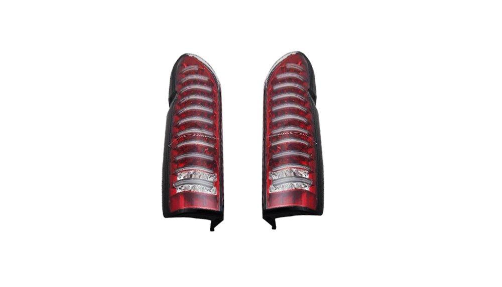 ハイエース レジアスエース 200系 1型 2型 3型 4型 5型 標準 ワイド 全年式対応 LEDライトバー内蔵 フルLEDテールランプ レッド AP-023LR