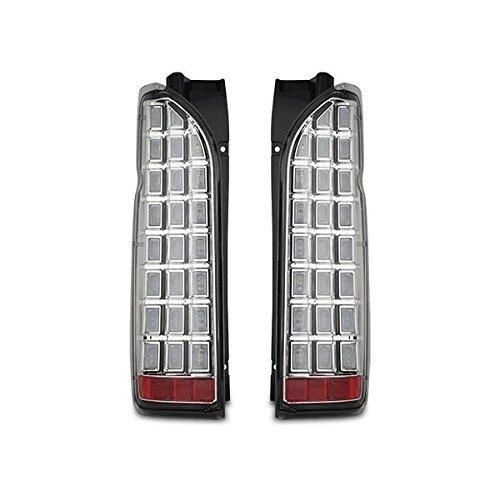 200系 ハイエース/レジアスエース 1型 2型 3型 4型 5型 LED ウィンカー 流れる ブロック テール クリア シューティング AP-062LR