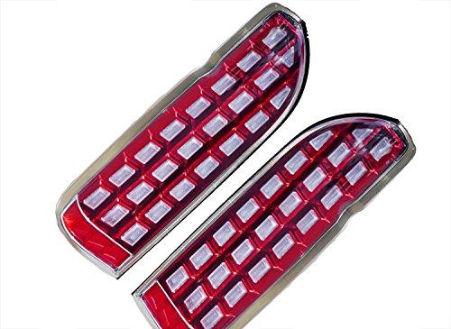 200系 ハイエース/レジアスエース 1型 2型 3型 4型 5型 LED ウィンカー 流れる ブロック テール レッド シューティング AP-063LR