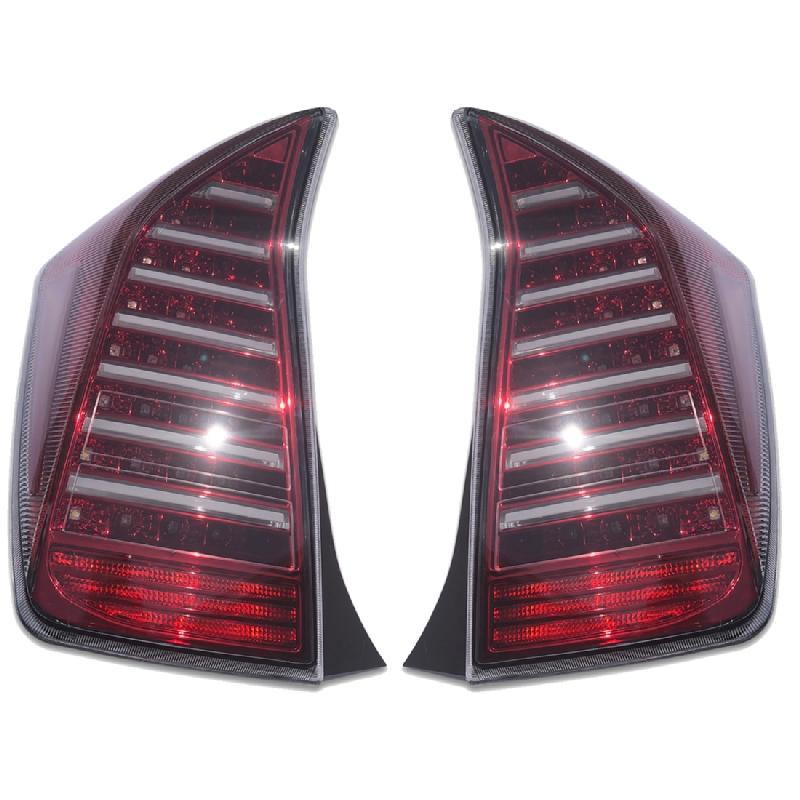 テールランプ ライト プリウス 30系 前期 後期 フルファイバー クリアレンズ 高輝度 LED 左右 AP-F101LR