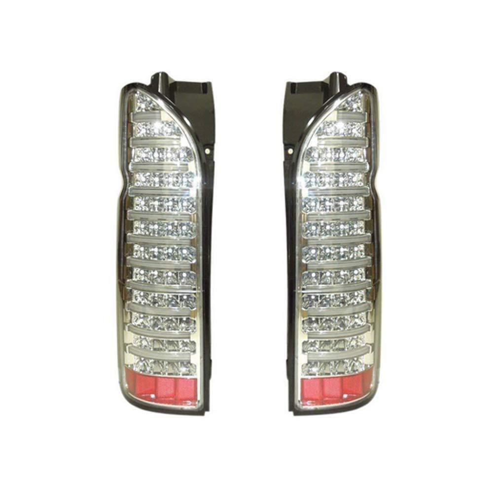 ハイエース レジアスエース 200系 1型 2型 3型 4型 5型 標準 ワイド 全年式対応 LEDライトバー内蔵 フルLEDテールランプ クリア AP-G029LR
