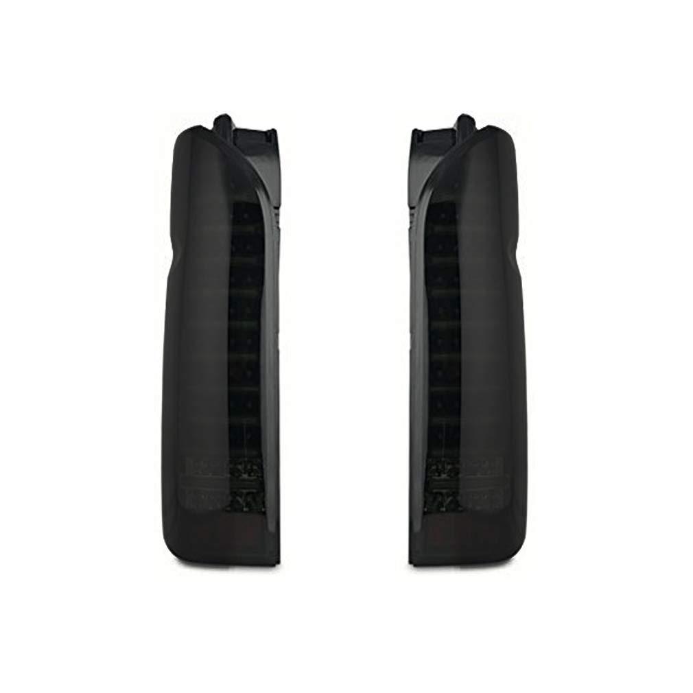 ハイエース レジアスエース 200系 1型 2型 3型 4型 5型 標準 ワイド 全年式対応 LEDライトバー内蔵 フルLEDテールランプ スモーク ブラック AP-G030LR