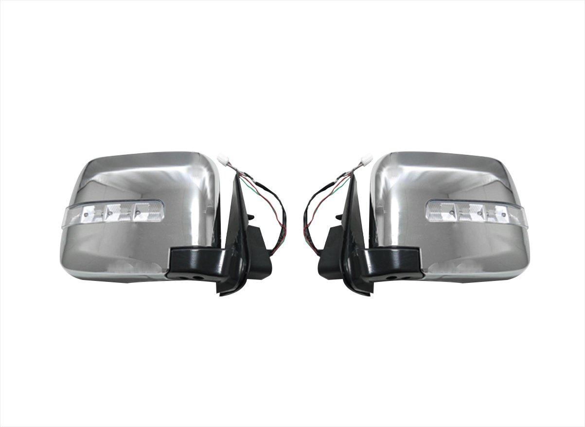 E25 キャラバン 後期 ドア ミラー LED ウィンカー 電動格納タイプ 左右セット AP-H013LR