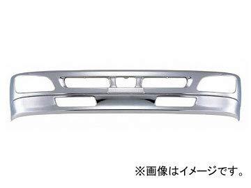 日野 レンジャー プロ 4t ワイド メッキ フロント バンパー & リップ スカート セット 新品 AP-T144145
