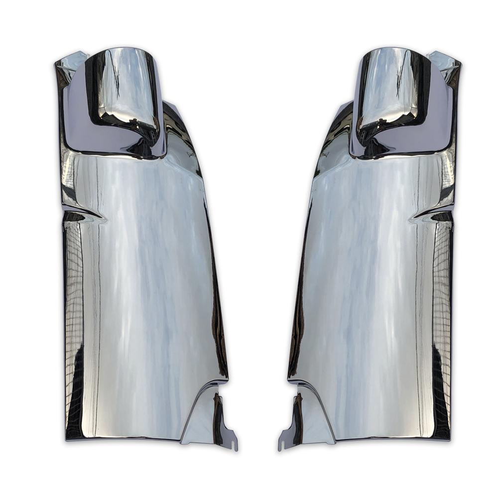 日野 エアループデュトロ H23年7月~ 2t 標準 オール メッキ コーナー パネル ピラー あり 新品 AP-T4-56