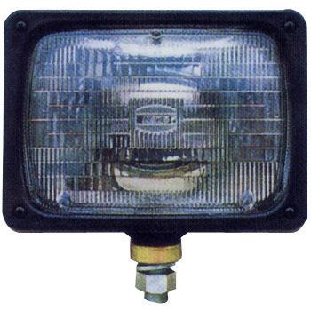 ワーキングランプ/作業灯 24V75/70W 黒樹脂製