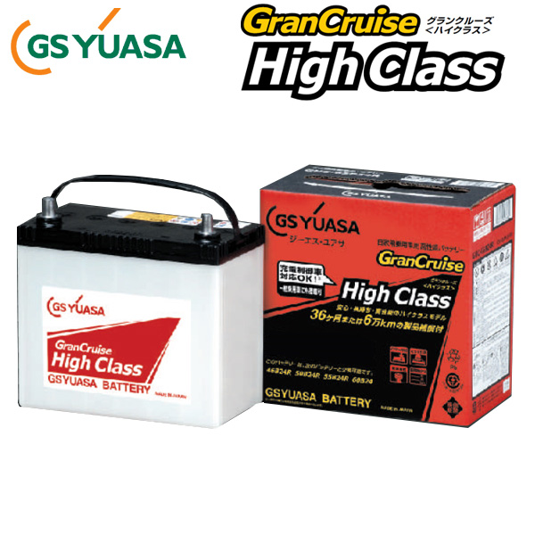 GS Yuasa battery control vehicle for battery eco-ECO. R (eco-r) ECT-60B24L Nissan Serena C26
