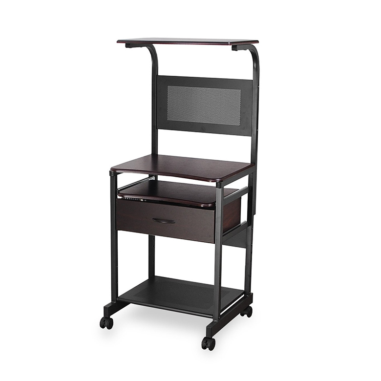 finest selection a60f5 b3536 Vertical rack computer PC desk / sliding table & / pasocondeascu/trundle  and drawers 5011 / study Desk / computer racks / compact 05P01Mar15