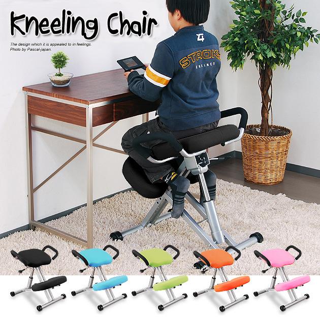 G05【ニーリングチェア】子供椅子/学習椅子/キッズチェア/バランス を取り座れる チェアー/姿勢矯正/進化したスツール/入学祝い