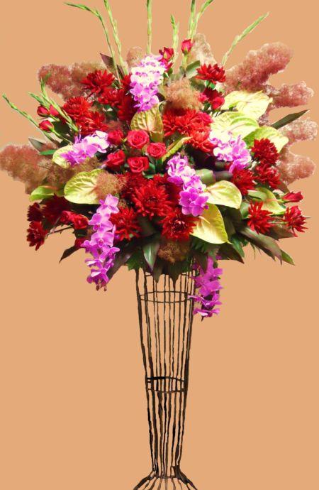 [開店祝 花]に豪華スタンド花05P01Nov14【HLS_DU】【楽ギフ_メッセ入力】