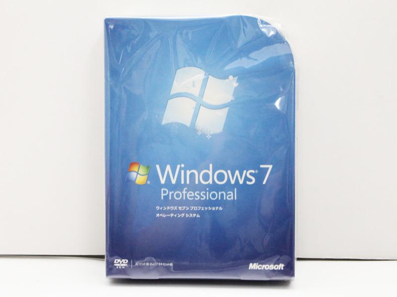 【新品】Microsoft Windows7 Professional 通常版 OS マイクロソフト ウィンドウズ 32bit/ 64bit