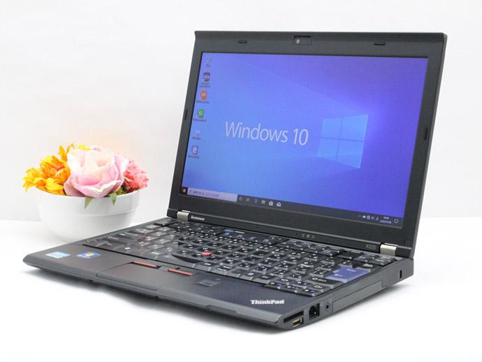 【中古】送料無料 ノートパソコン Office付き Windows10 Lenovo ThinkPad X220シリーズ Core i5 2520M 2.5GHz メモリ 4GB 新品SSD 256GB Bランク X4