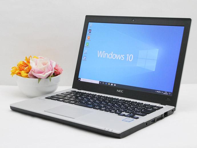 【中古】あす楽 送料無料 WEBカメラ ノートパソコン Office付き Windows10 NEC VersaPro UltraLite PC-VK23シリーズ Core i3 6100U 2.3GHz メモリ 8GB 新品SSD256GB Bランク E2