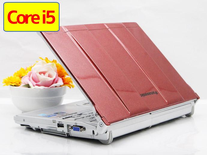 【中古】送料無料 ノートパソコン Office付き 新品キーボード交換済 Windows 10 Panasonic Let's note CF-S10 CF-S10EWGDS Core i5 2540M 2.6GHz メモリ 4GB SSD120GB DVD-ROM G4