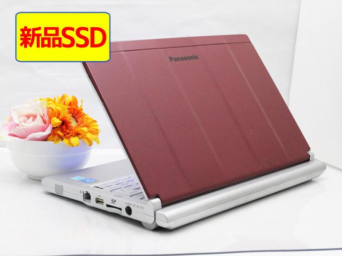 【スーパーSALE特価】【中古】ノートパソコン Office付き 新品SSD Windows10 天板カスタマイズ DVD-RW Office付き Panasonic Let's note CF-SX3EDHCS Core i5 4300U 1.9GHz メモリ 4GB 新品SSD 240GB DVD-RW ラズベリーレッド R8, INFINITY Co.,Ltd.:7fec3709 --- officewill.xsrv.jp