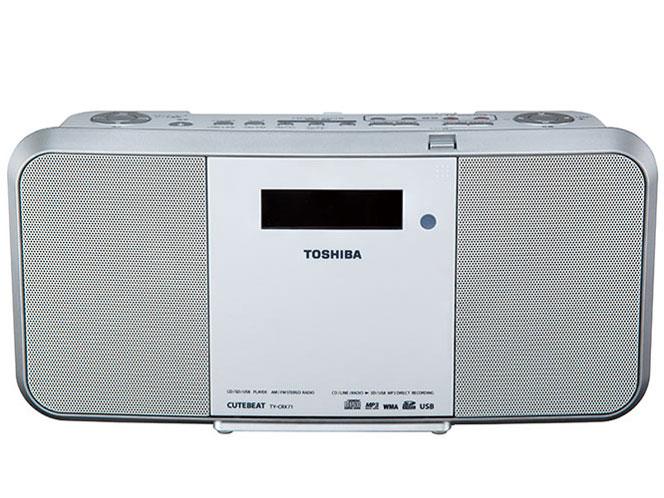 TOSHIBA 東芝 SD/USB/CDラジオ TY-CRX71(W)ホワイト 【即納・送料無料】CDラジカセ