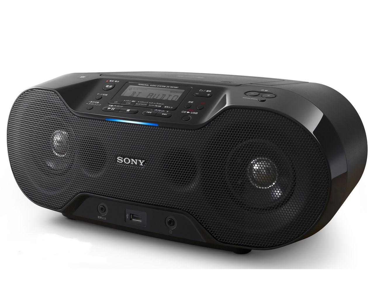 SONY 소니 Bluetooth 대응 CD라디오 ZS-RS70BT CD라디오 카셋트