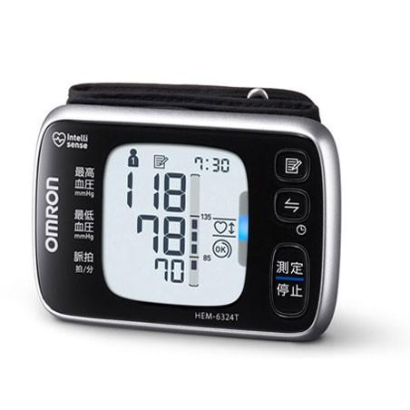 OMRON オムロン 手首式血圧計 HEM-6324T【即納・送料無料】