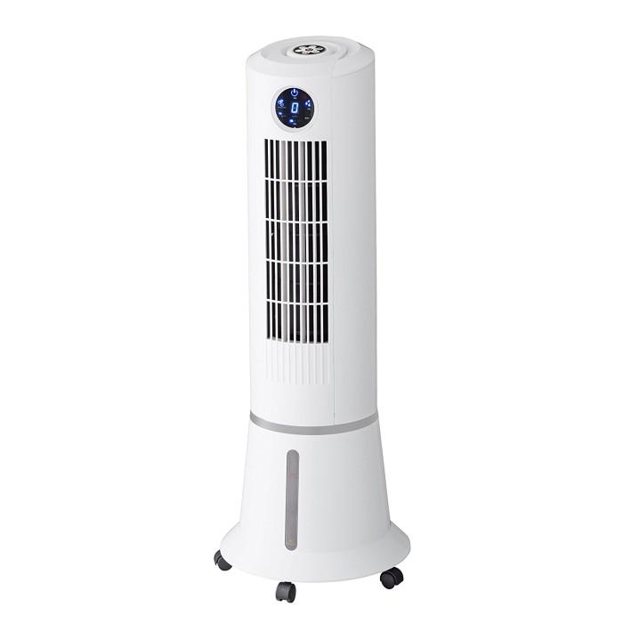 スリーアップ タワー型スリム冷風扇 ウォータークールファン EFD-1701 抗菌カートリッジ付 【即納・送料無料】