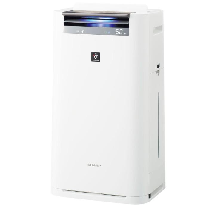 SHARP 高濃度プラズマクラスター25000搭載 加湿空気清浄機 KI-HS70-W ホワイト 【即納・送料無料】