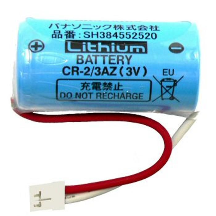火災警報器用の交換用電池です Panasonic セール価格 リチウム電池 SH384552520 CR-2 3AZ ねつ当番専用 即納 送料無料 けむり当番 お歳暮 火災報知機 パナソニック