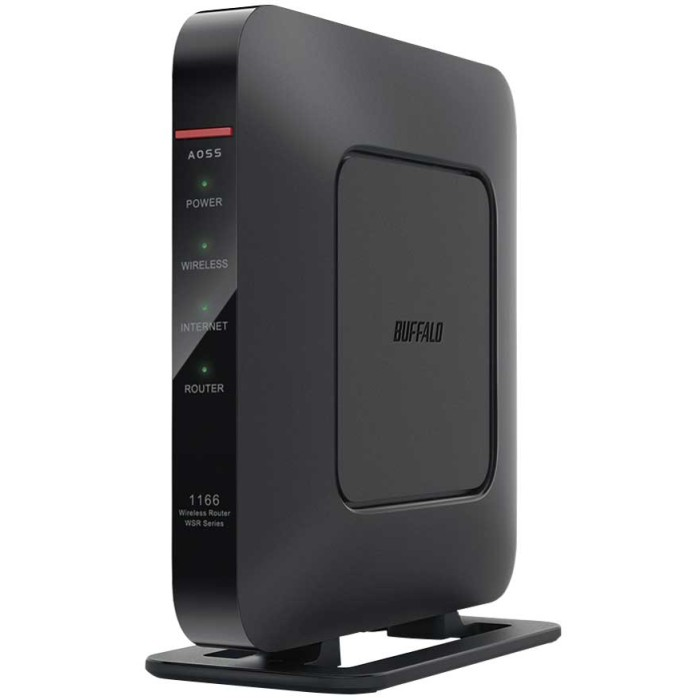<title>たくさんの機器と同時につないでも通信速度が落ちない BUFFALO 無線LANルーター AirStation WSR-1166DHP4-BK 買物 ブラック バッファロー 送料無料 即納</title>