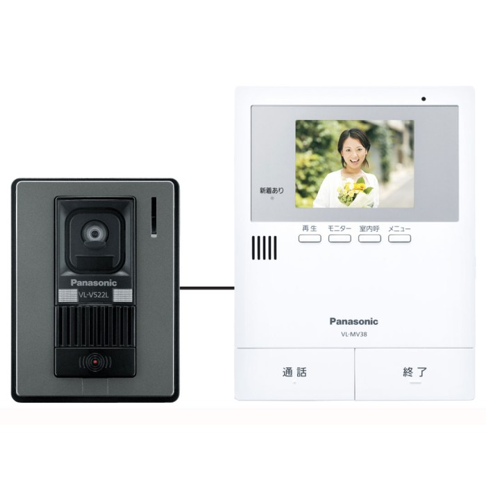 Panasonic カラーテレビドアホン VL-SV38KL パナソニック 【即納・送料無料】