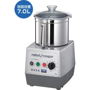 ROBOT COUPE ロボクープ CUTTER-MIXER-SERIES カッターミキサーシリーズ R-6V.V.S 【送料無料・代引不可】