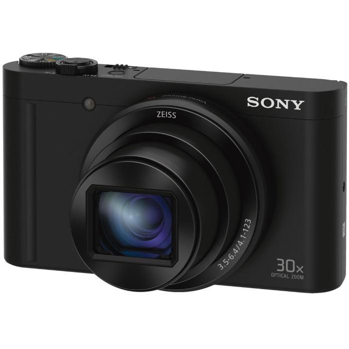 SONY ソニー コンパクトデジタルカメラ Cyber-shot サイバーショット DSC-WX500-B ブラック 【送料無料】