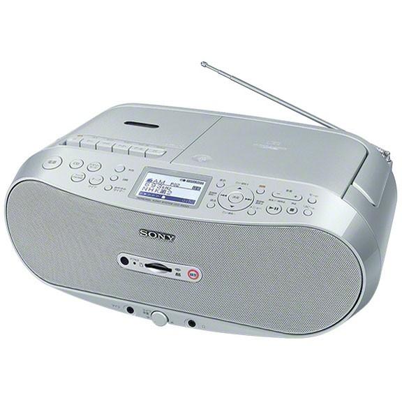 SONY ソニー CDラジオ CDラジカセ メモリーレコーダー CFD-RS501 【即納・送料無料】