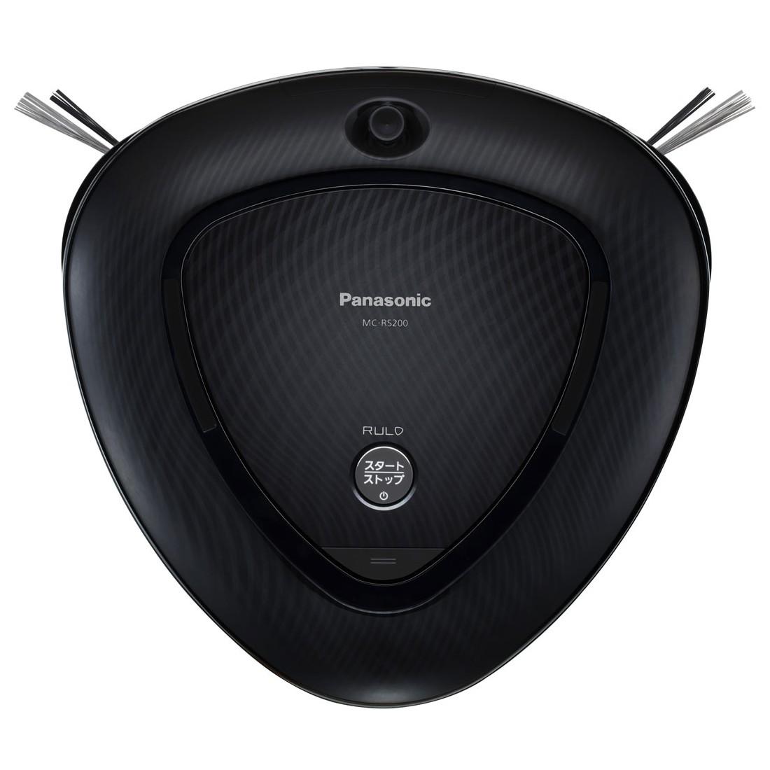 Panasonic パナソニック ロボット掃除機 RULO ルーロ MC-RS200-K ブラック【即納・送料無料】【02P03Dec16】