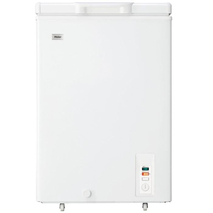 Haier ハイアール 103L 上開型直冷式冷凍庫 JF-NC103F-W ホワイト【送料無料・代引き不可】