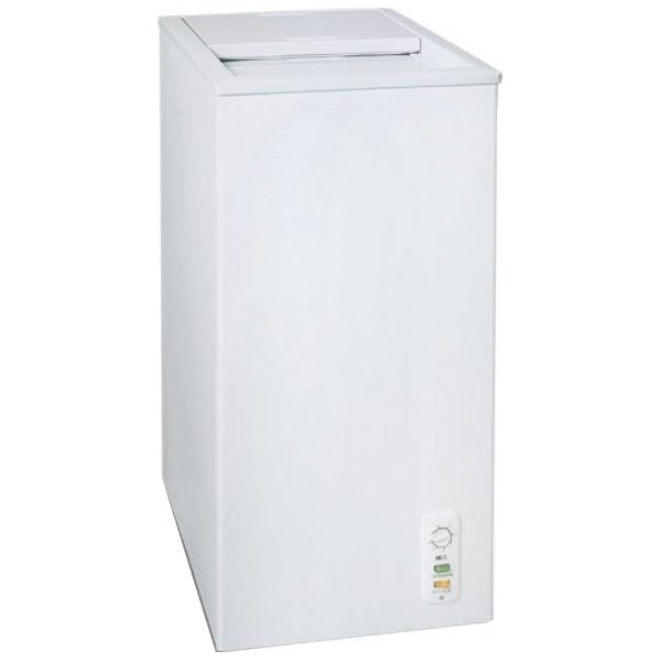 三ツ星貿易 58L スライド式冷凍庫 MA-6058SL ホワイト【送料無料・代引き不可】
