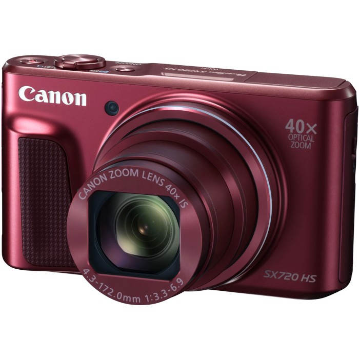 Canon キャノン コンパクトデジタルカメラ PowerShot SX720 HS RE レッド【送料無料】