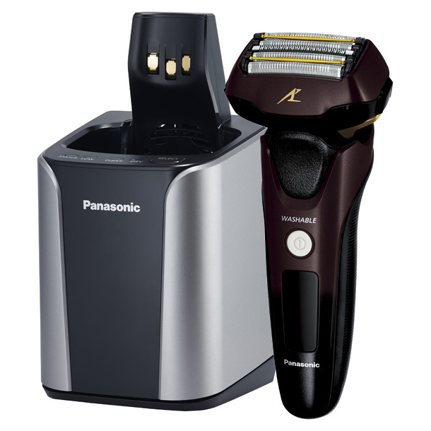 Panasonic パナソニック 電気シェーバー 5枚刃 ラムダッシュ ES-CLV7B-T 茶 【送料無料・即納】(同等品:ES-LV7B-T)